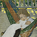 Rocking Baby Doll To Sleep Print by Jessie Willcox Smith