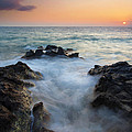 Rocky Inlet Sunset Print by Mike  Dawson