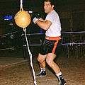 Rocky Marciano Training Print by Retro Images Archive