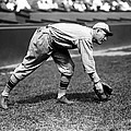 Rogers Hornsby Fielding Practice Print by Retro Images Archive
