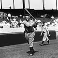 Rogers Hornsby Follow Through Swing Print by Retro Images Archive