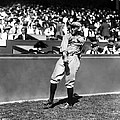 Rogers Hornsby Warm Up Throws Print by Retro Images Archive