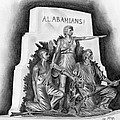 Roll Tide Alabama Monument at Gettysburg Poster by Lou Knapp