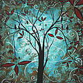 Romantic Evening by MADART Poster by Megan Duncanson