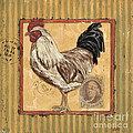 Rooster and Stripes by Debbie DeWitt