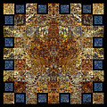 Rorshach Yantra nine oh four Poster by Bruce Ricker