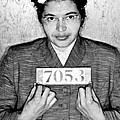 Rosa Parks Print by Unknown