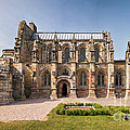 Rosslyn Chapel 01 Print by Antony McAulay