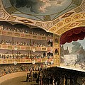 Royal Circus From Ackermanns Repository Poster by T. & Pugin, A.C. Rowlandson
