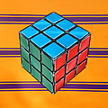 Rubiks Print by Anthony Mezza