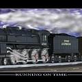 RUNNING ON TIME Print by Mike McGlothlen