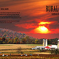 RURAL BARNS  my BOOK COVER Poster by Randall Branham