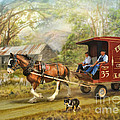 Rural Deliveries Poster by Trudi Simmonds