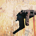 Rusted Metal Abstraction Poster by Ann Powell