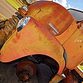 Rusted Out Chevrolet 5700 Print by Liane Wright