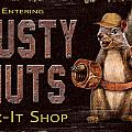 Rusty Nuts Poster by JQ Licensing