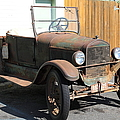 Rusty Old Ford Jalopy 5D24641 Poster by Wingsdomain Art and Photography
