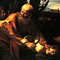 Sacrifice of Issac Poster by Caravaggio