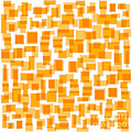 Saffron Yellow Abstract Poster by Frank Tschakert