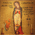 Saint Catherine of Alexandria Altar Poster by Philip Ralley