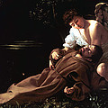 Saint Francis of Assisi in Ecstasy Poster by Caravaggio