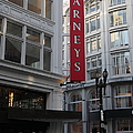 San Francisco Barneys Department Store - 5D20544 Print by Wingsdomain Art and Photography