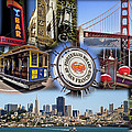 San Francisco Collage Poster by Kelley King