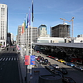 San Francisco Moscone Center and Skyline - 5D20511 Print by Wingsdomain Art and Photography