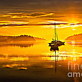 San Juan Sunrise Print by Robert Bales