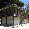 Sanchez Adobe Pacifica California 5D22642 Print by Wingsdomain Art and Photography