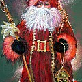 Santa as Father Christmas Poster by Shelley Schoenherr