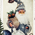 Santa Claus Poster by Angela Doelling AD DESIGN Photo and PhotoArt