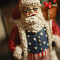 Santa Claus - Antique Ornament - 15 Poster by Jill Reger