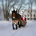 Santa Claus Poster by Conny Sjostrom