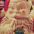 Santa Whispers vintage by Toni Hopper