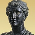 Sappho 612-545 Bc. Greek Art. Sculpture Poster by Everett