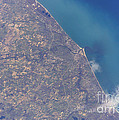 Satellite View Of St. Joseph Area Poster by Stocktrek Images