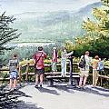 Scenic Overlook Print by Sam Sidders