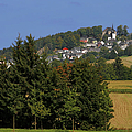 Schauenstein - A typical Upper-Franconian town Print by Christine Till