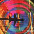Schlieren Image of Aircraft Poster by Garry Settles