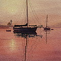 SCITUATE SERENITY Print by Karol Wyckoff