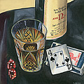 Scotch and Cigars 2 Poster by Debbie DeWitt