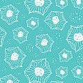 Sea Flower Print by Susan Claire