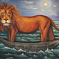 Sea Lion softer image Print by Leah Saulnier The Painting Maniac