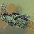 Sea Turtle Print by Michael Creese