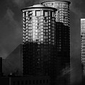 Seattle Towers Print by Paul Bartoszek