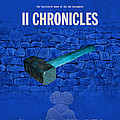 Second Chronicles Books Of The Bible Series Old Testament Minimal Poster Art Number 14 Print by Design Turnpike
