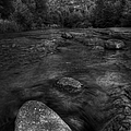 Sedona Cathedral Rock Black and White Print by Dave Dilli