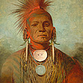 See non ty a an Iowa Medicine Man Print by George Catlin