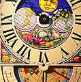 Seed planting clock Poster by Garry Gay
